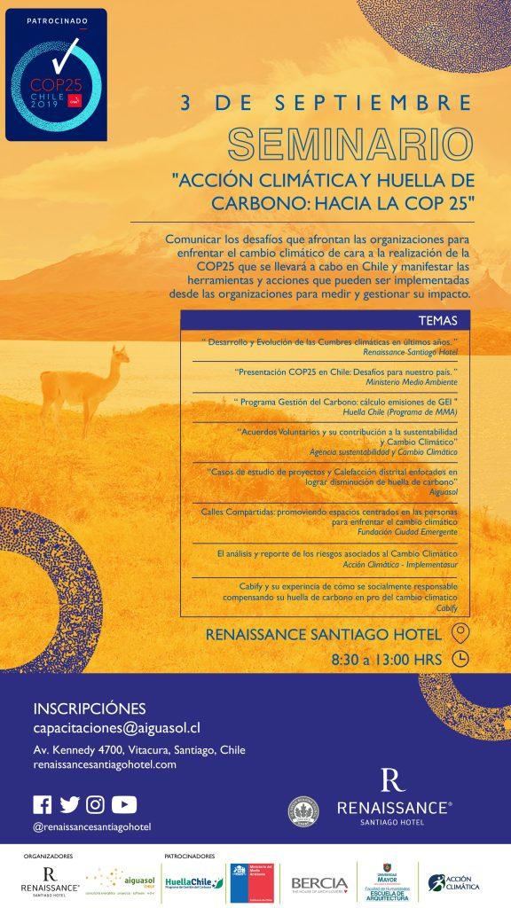 Acción Climática Y Huella de Carbono: Hacia la COP 25